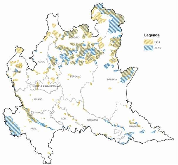 Hattusas SRL - VIC - Valutazioni Ambientali - Valutazioni di Incidenza - siti_rn2000