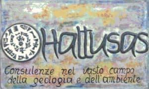 Hattusas SRL - logo artigianale - Consulenze nel vasto campo della geologia e dell'ambiente