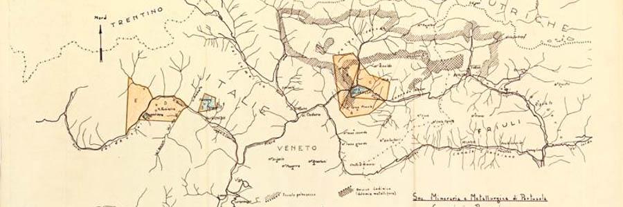 Hattusas - Progetto - Miniera di Salafossa - I siti di Argentiera e Salafossa