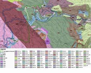 Hattusas - Valutazione di Incidenza Ambientale - VIC - Piste da sci - cartografia degli habitat