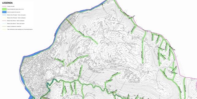 Componente geologica della variante 1 al PGT di Cene – stralcio della carta del reticolo idrico minore