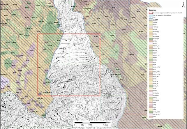 Permesso di ricerca Vedra – cartografia degli habitat di Rete Natura 2000
